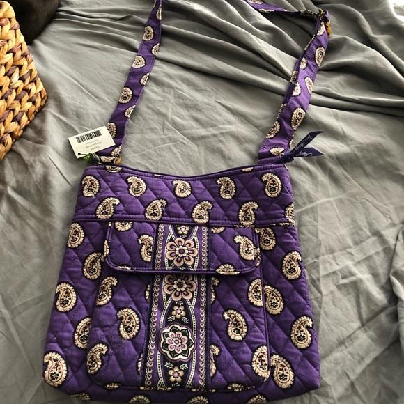 Vera Bradley Simply Violet Hipster NWT 7643621896c5f